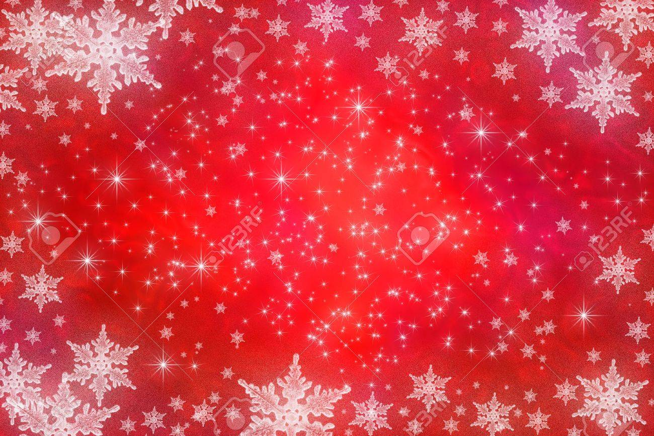 Winter holiday background with snowflakes - 5911776