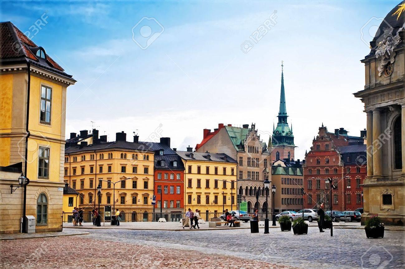 Old Town Stockholm, Sweden, july 2011 - 11654460
