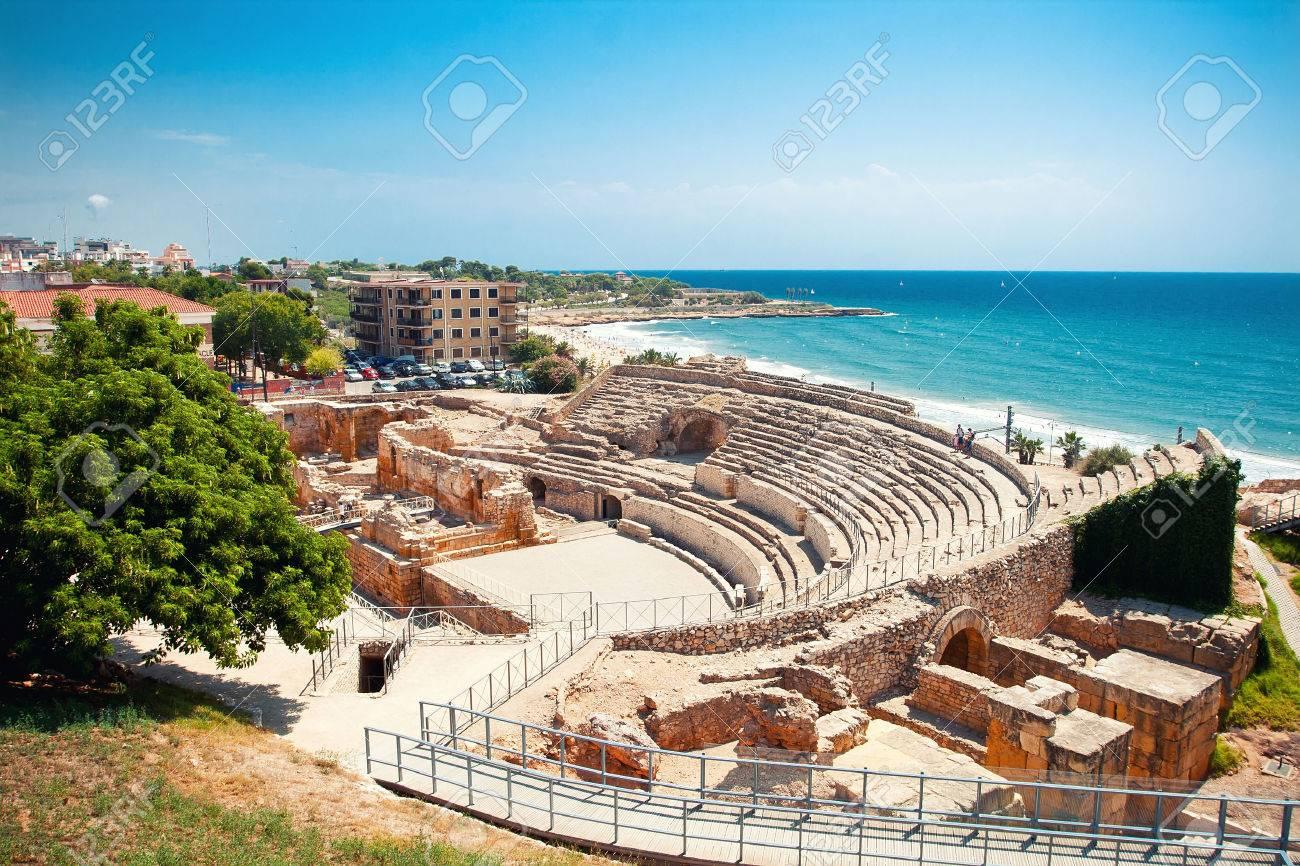 Roman amphitheater in Tarragona, Spain - 36245228