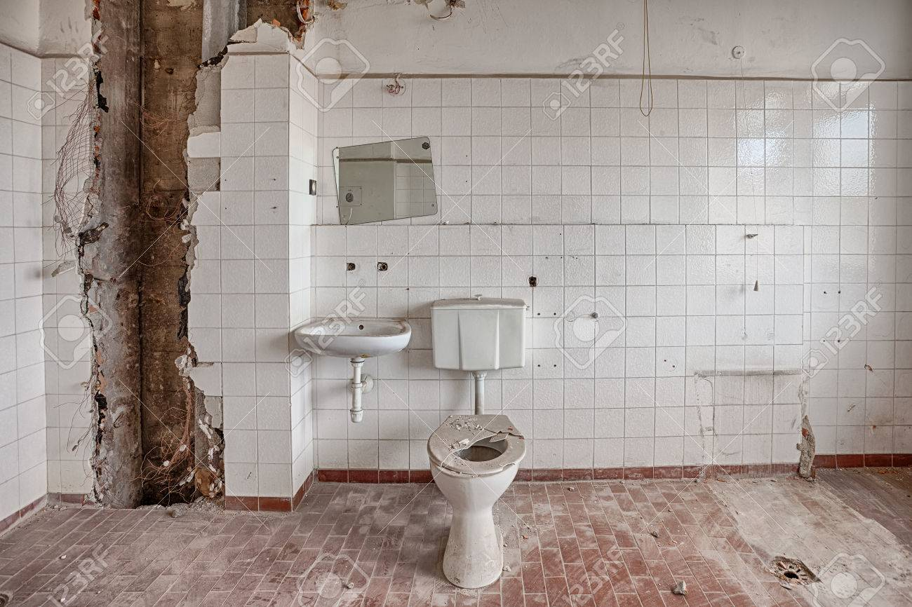 Ugly Old Bathroom Stock Photos. Royalty Free Ugly Old Bathroom Images