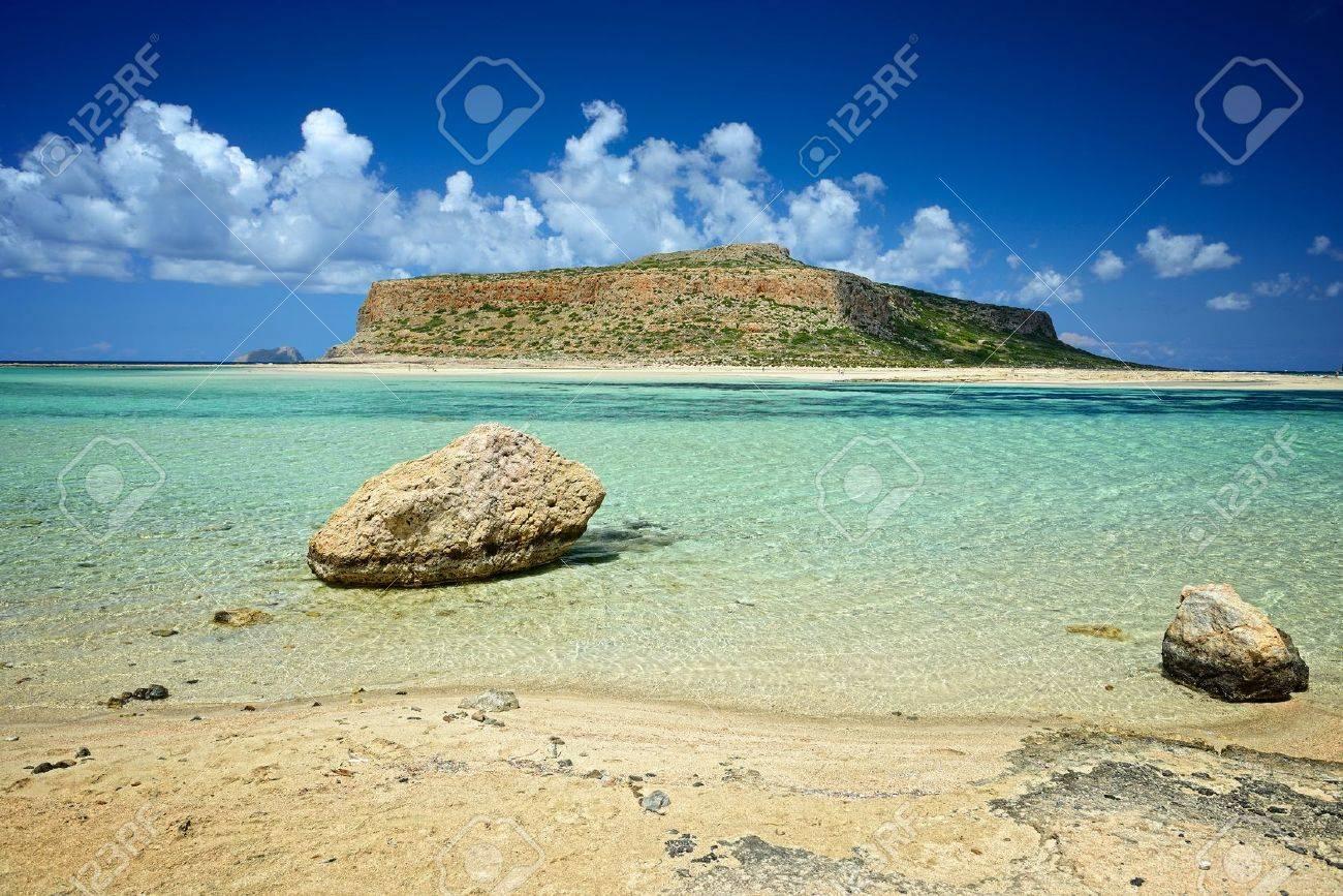 Ballos beach  Crete Greece Beach