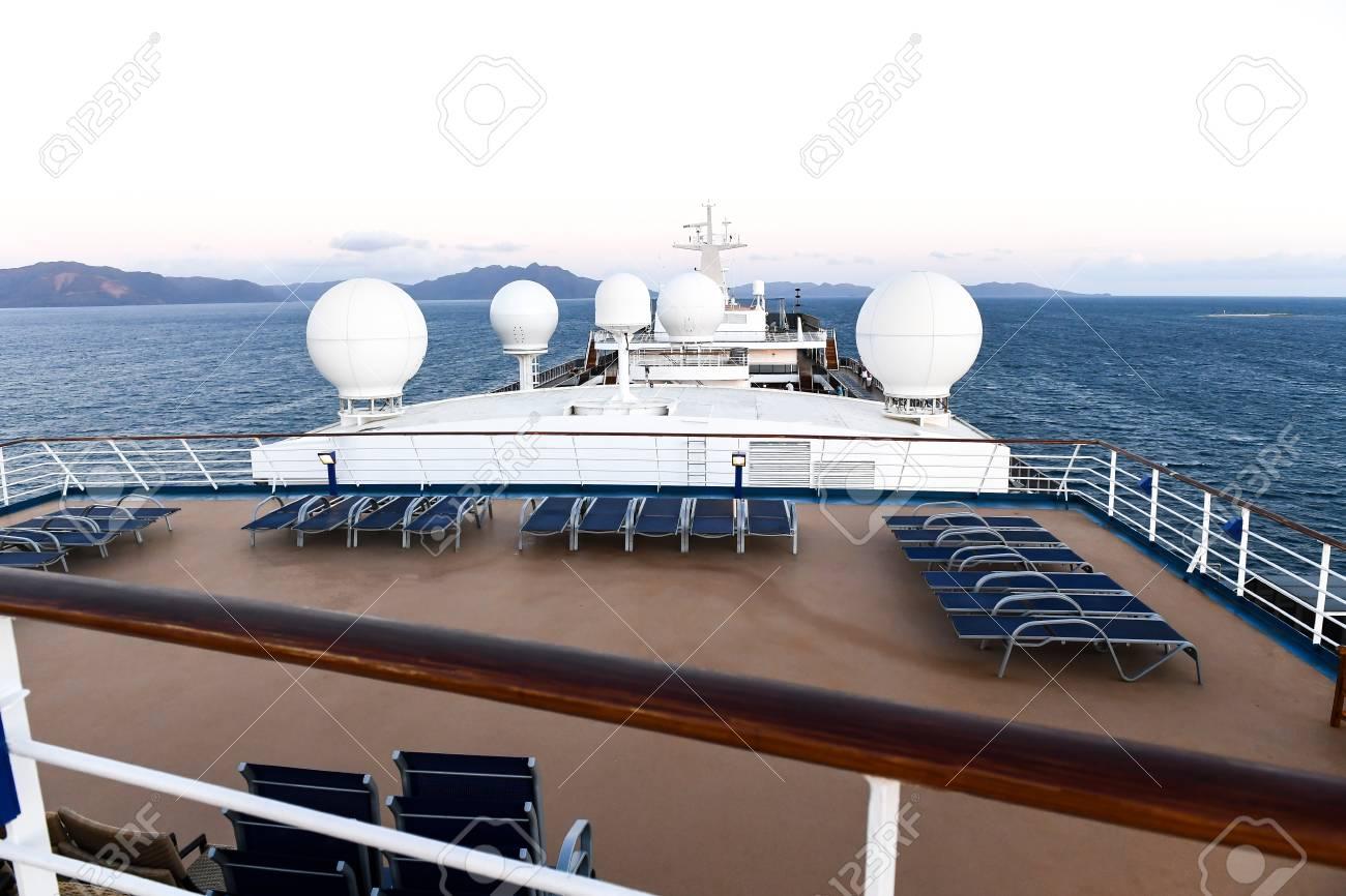 Astonishing Forward View Of A Cruise Ship Overlooking Lounge Chairs And Radar Creativecarmelina Interior Chair Design Creativecarmelinacom