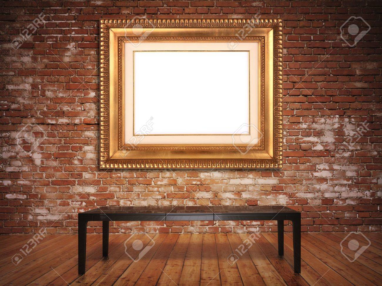 Elegant frame with a rustic background. Frame is blank to insert picture or text. Stock Photo - 11641405