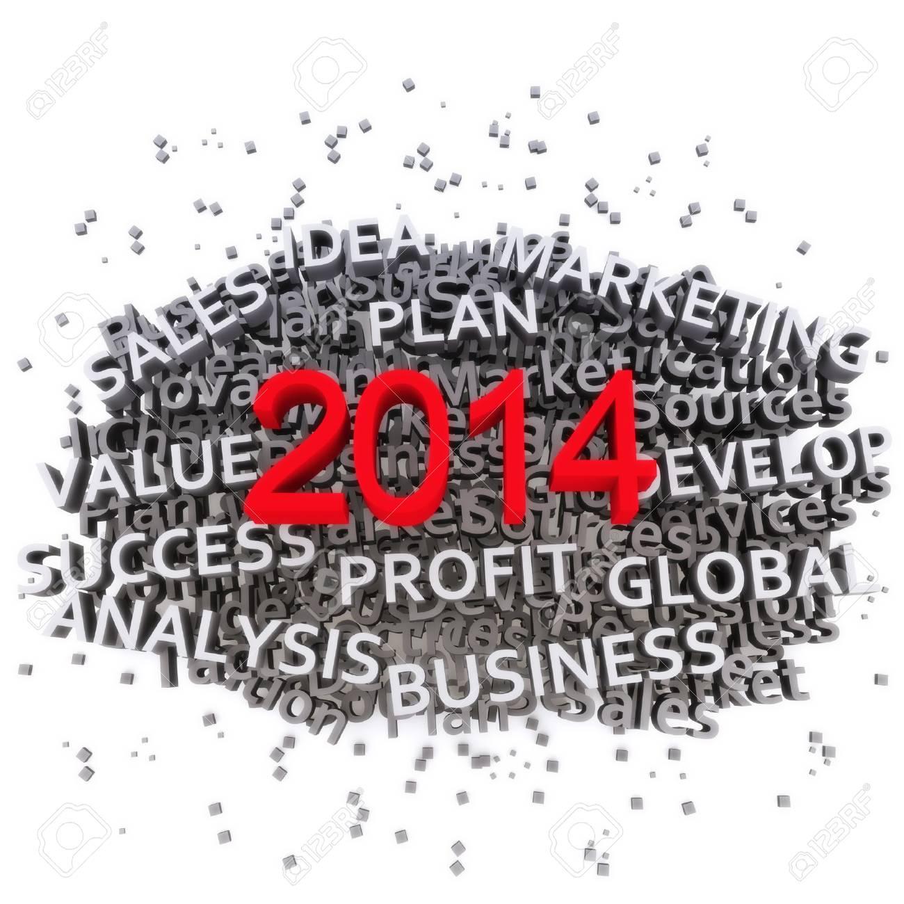 2014 Business plan Stock Photo - 19296565
