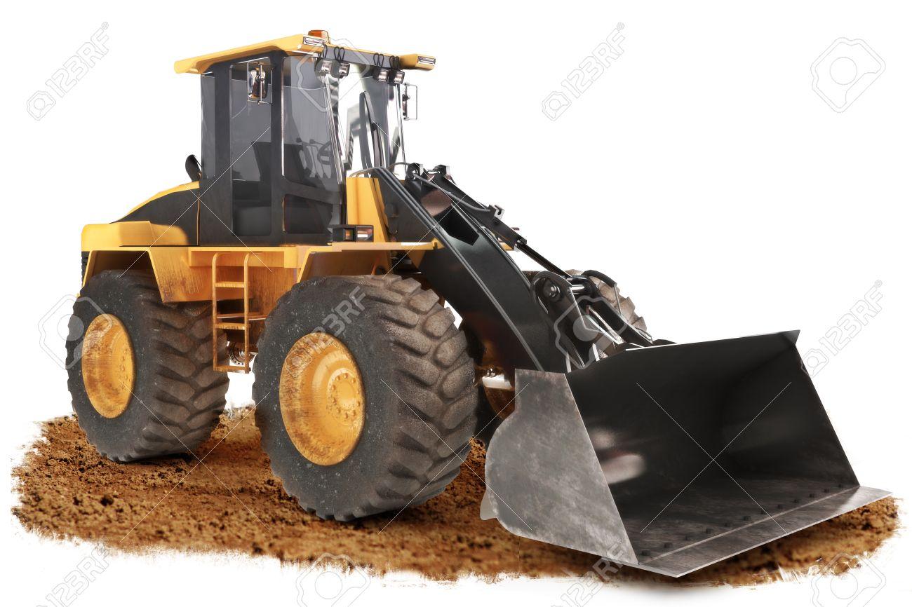 generic construction bulldozer loader excavator construction
