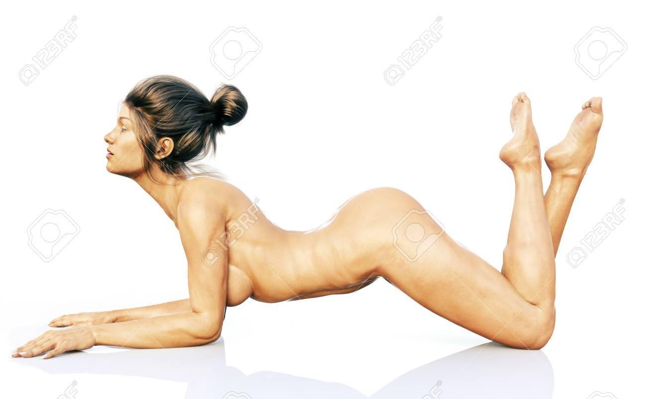 Man man sleeping nude naked