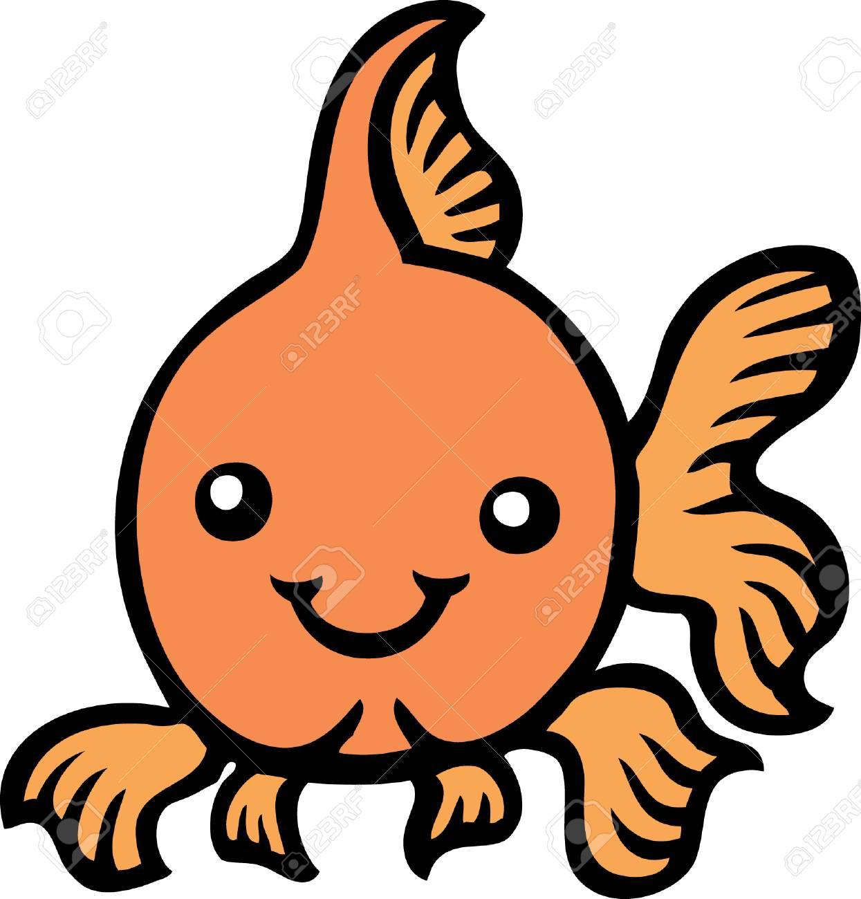 Goldfish Stock Vector - 23511644