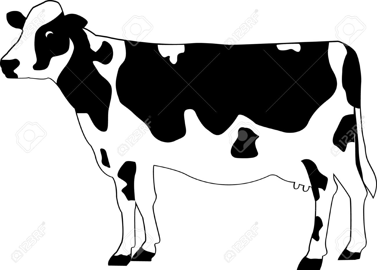 cow royalty free cliparts vectors and stock illustration image