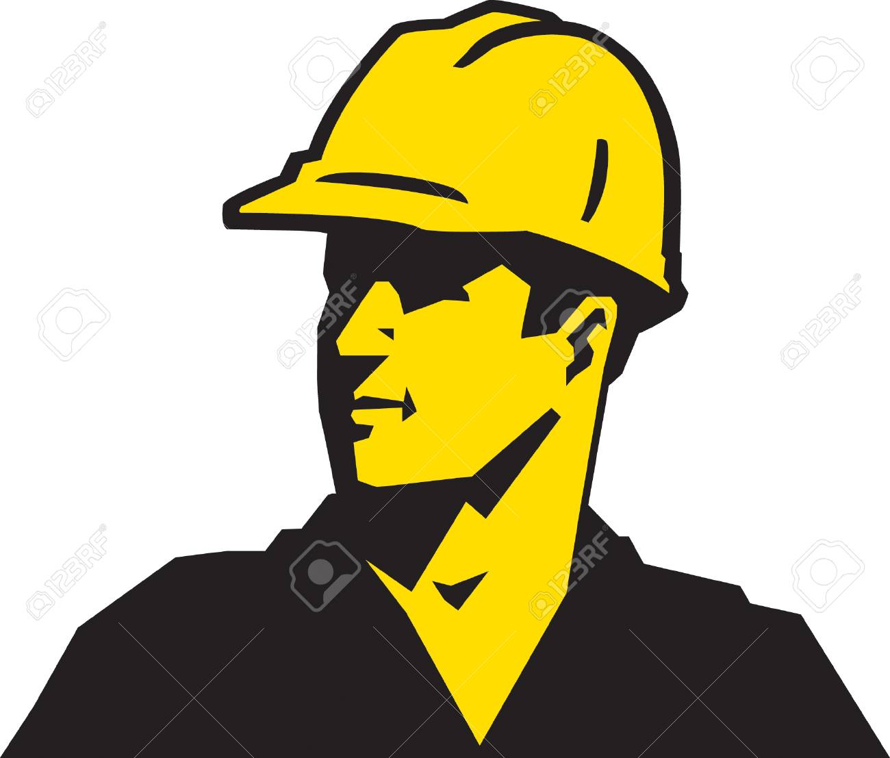 Construction Guy Stock Vector - 24305985