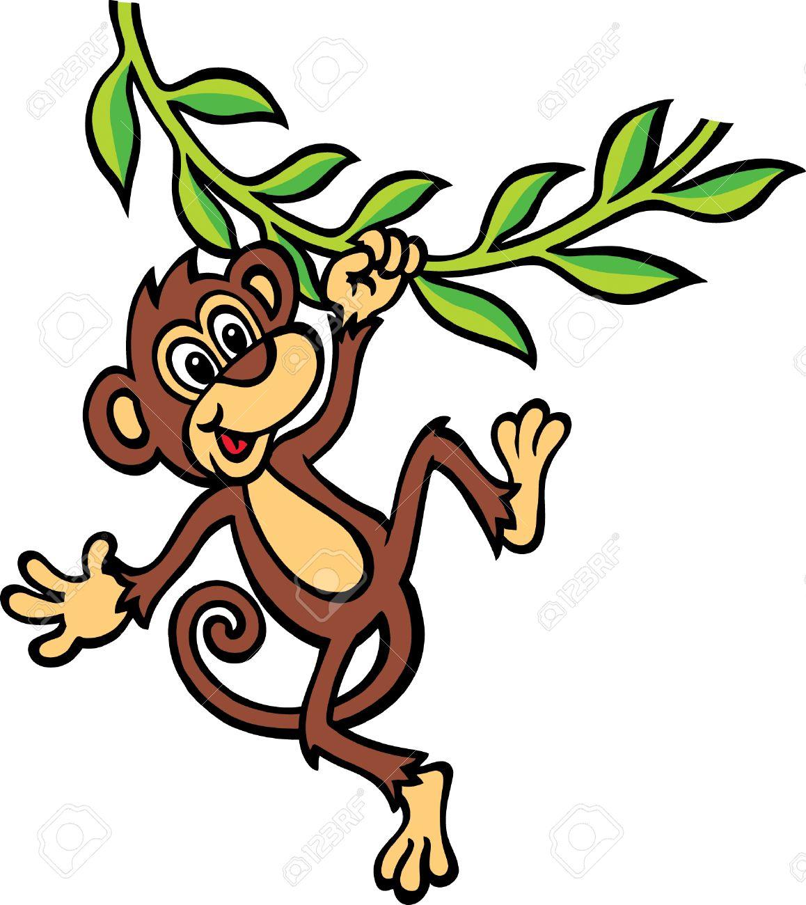 Monkey shirt spank t