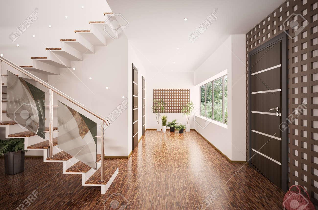 100 Incroyable Conseils Entree Avec Escalier Moderne