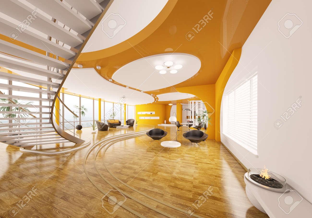 Awesome Interieur Design Moderner Wohnung Urbanen Stil Photos ...