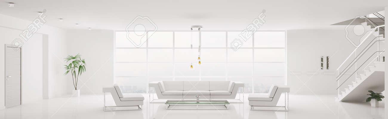 Home interior white