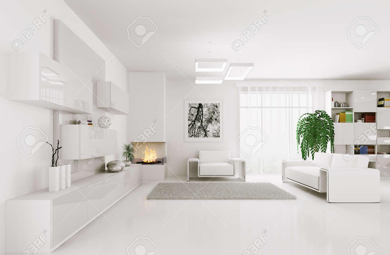 decobizz living white room black and com design modern