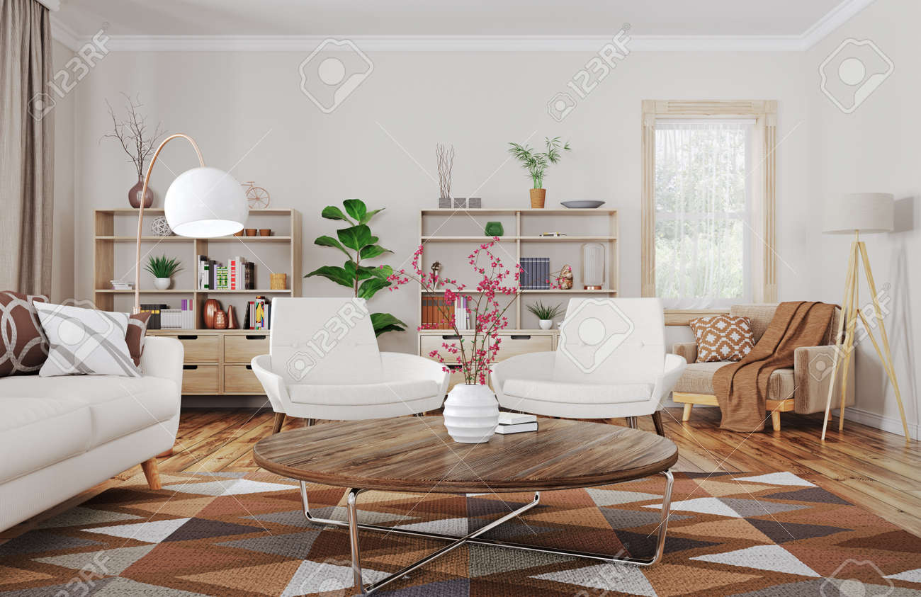 Super Modern Interior Design Of House Living Room With Sofa And Armchairs Theyellowbook Wood Chair Design Ideas Theyellowbookinfo