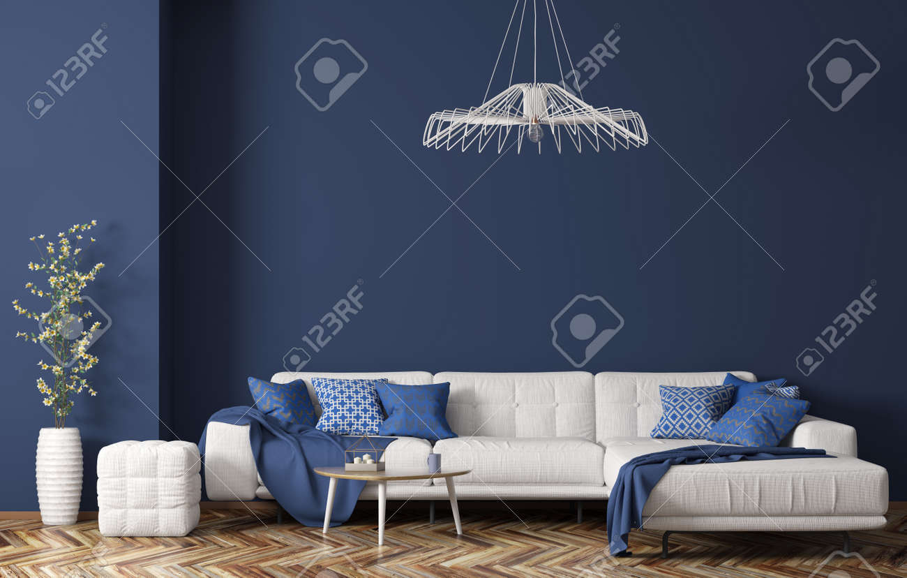Awe Inspiring Interior Of Modern Living Room With White Fabric Sofa Coffee Gamerscity Chair Design For Home Gamerscityorg