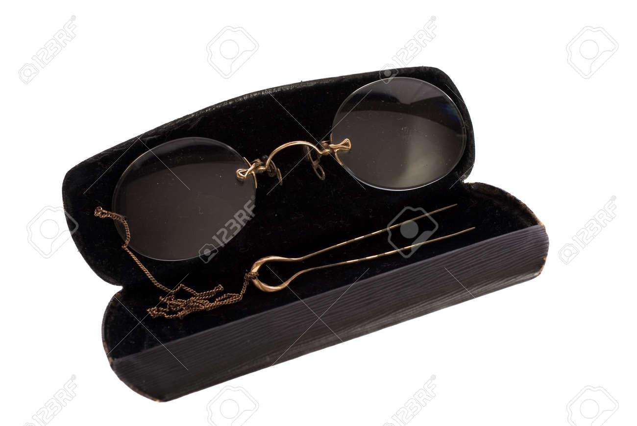 b78fa75d6c3 Antique Ladies Clip On Eyeglasses