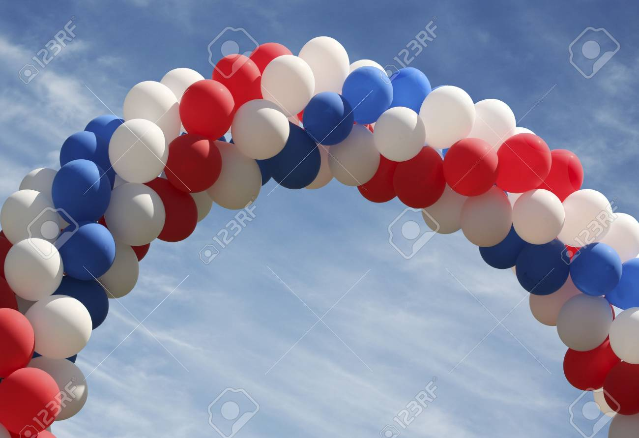 Archway of balloons Stock Photo - 453744