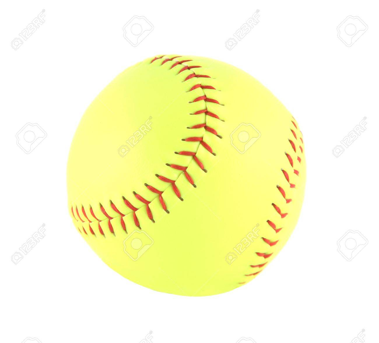 Yellow Softball Balloons Brand New Yellow Softball