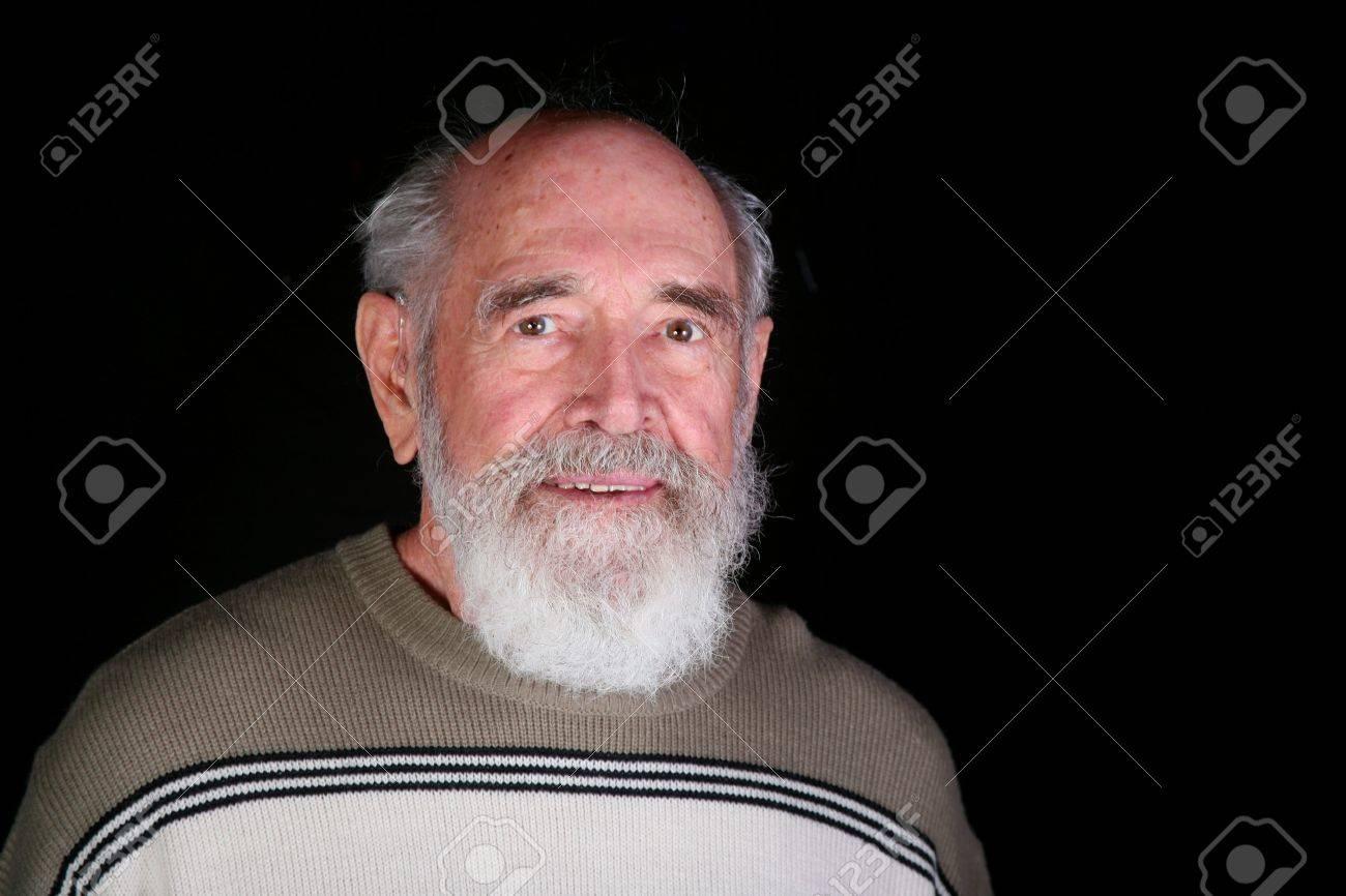 Grauer bart attraktiv