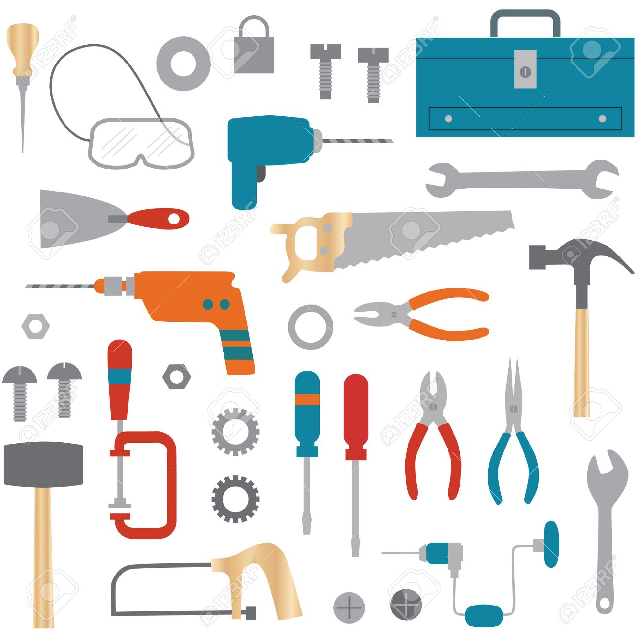 Tools Clipart Royalty Free Cliparts, Vectors, And Stock ...