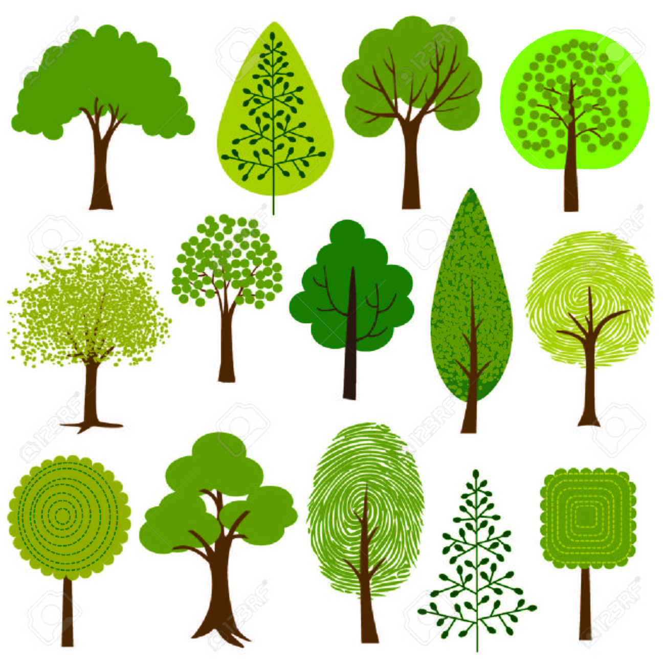 Image result for clip art trees