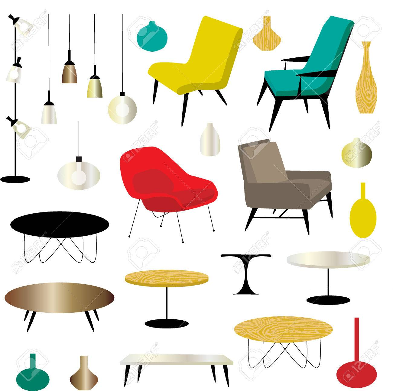 Furniture Clipart Royalty Free Cliparts, Vectors, And Stock ...