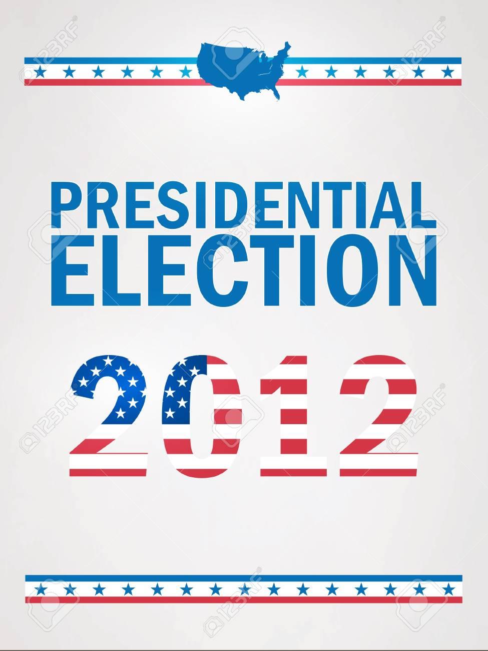 2012 年アメリカ合衆国大統領選挙のイラスト素材・ベクタ - Image ...
