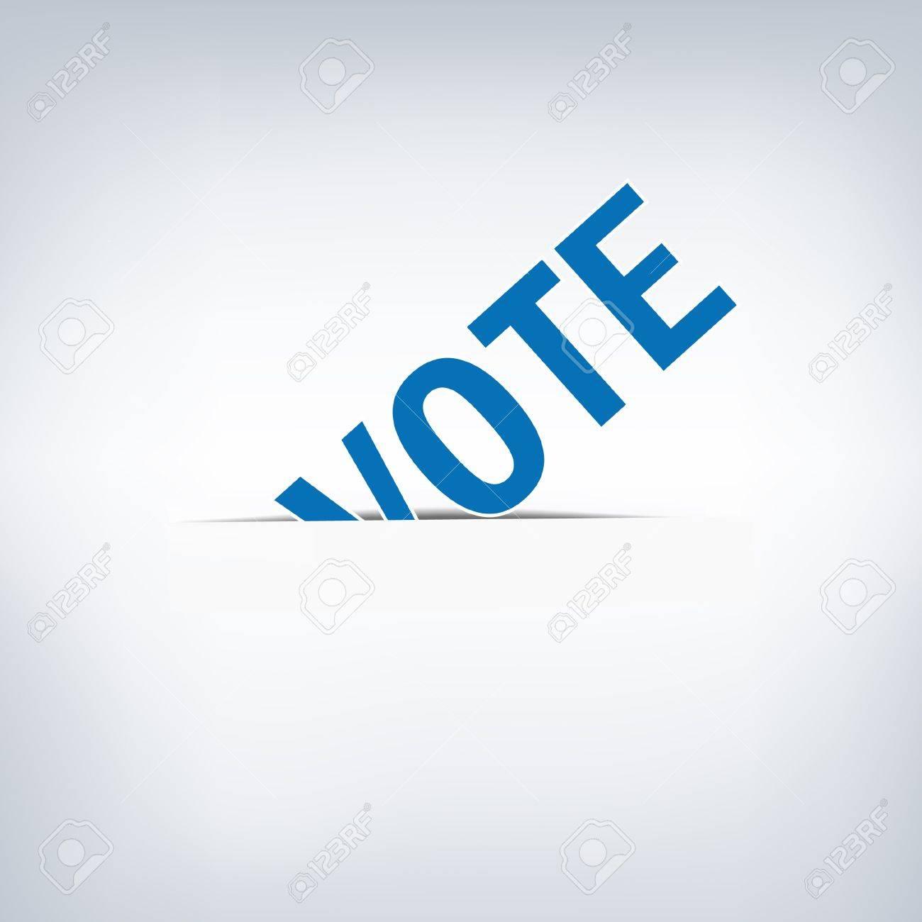 Vote Stock Vector - 15756664