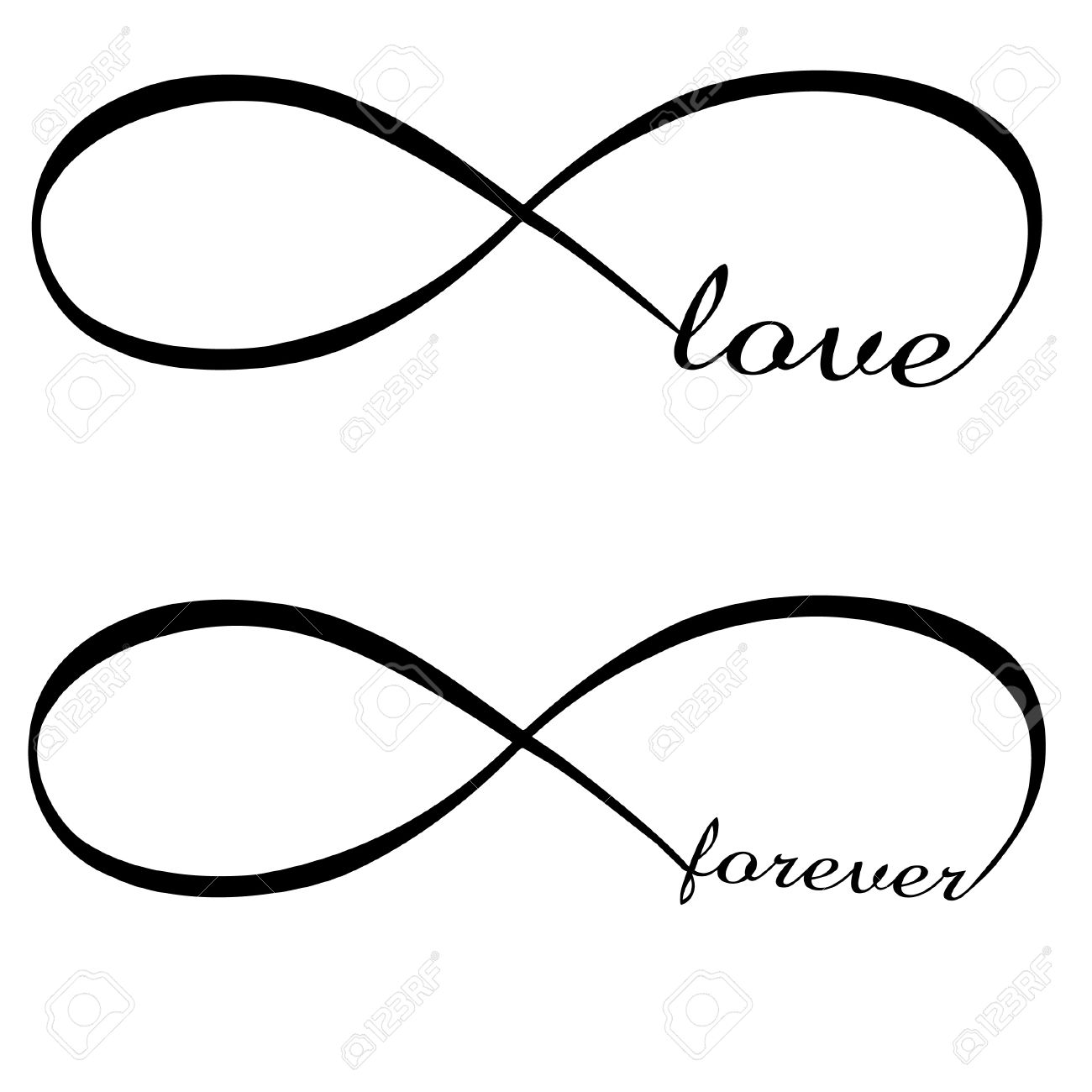 Infinite love forever royalty free cliparts vectors and stock infinite love forever stock vector 17583309 biocorpaavc Images