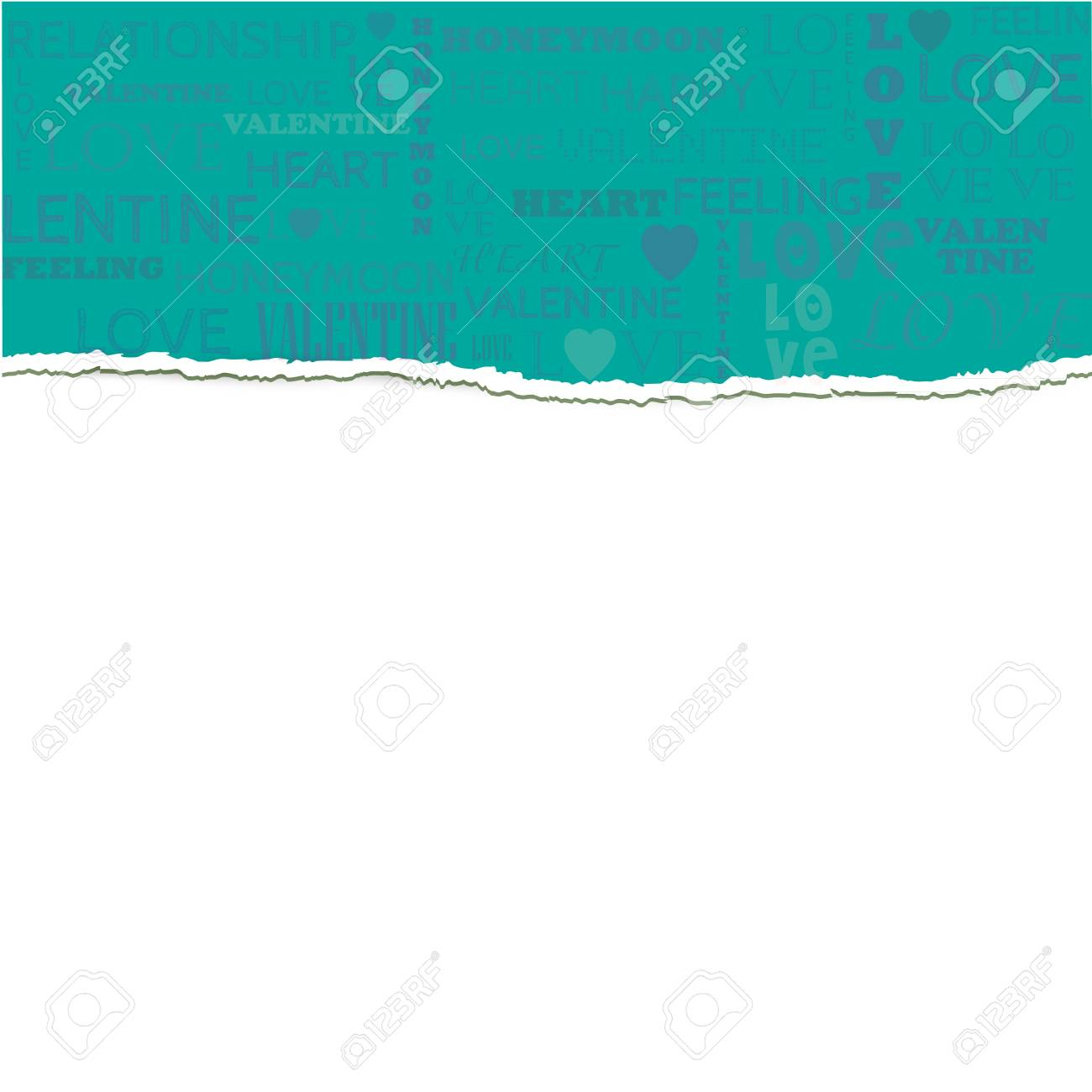 Love Paper Greeting Background Stock Vector - 17697912