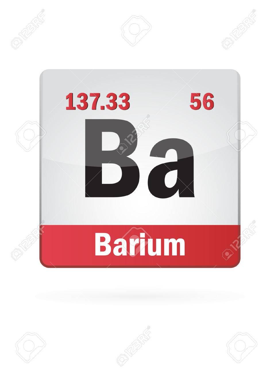 Barium symbol illustration icon on white royalty free cliparts barium symbol illustration icon on white stock vector 23075234 biocorpaavc Images
