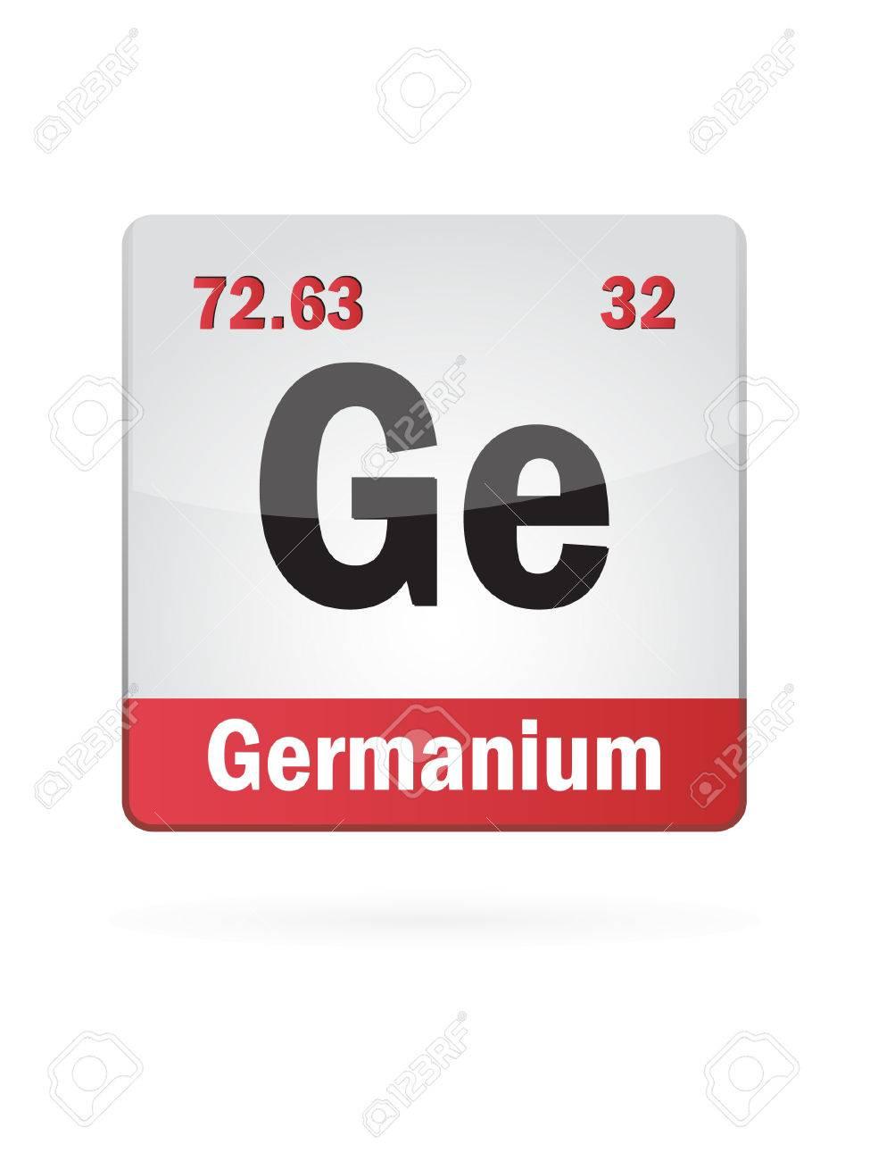 Germanium Symbol Illustration Icon Royalty Free Cliparts Vectors