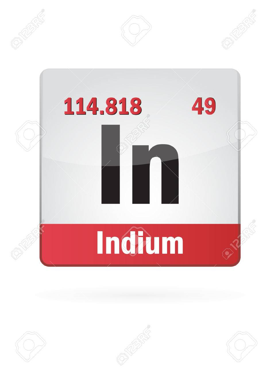 Indium symbol illustration icon royalty free cliparts vectors indium symbol illustration icon stock vector 23652250 biocorpaavc Images