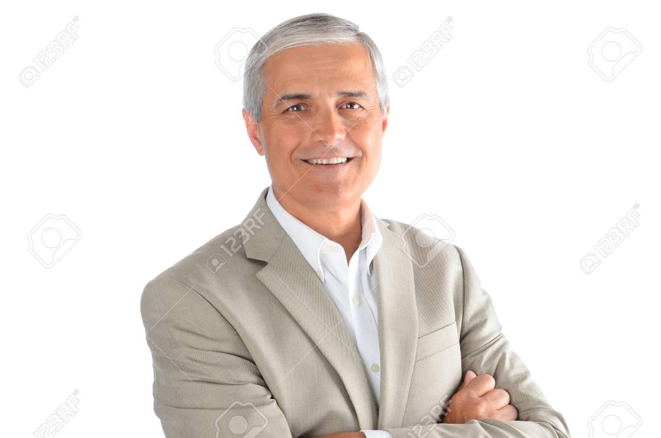 Con Mezza Immagini Le Ritratto Età Un D'affari Di Uomo Stock rwBUqZYBx8