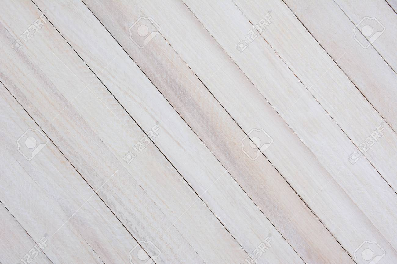 Closeup Of A Rustic Whitewashed Wood Background The Boards Are At An Angle Stock