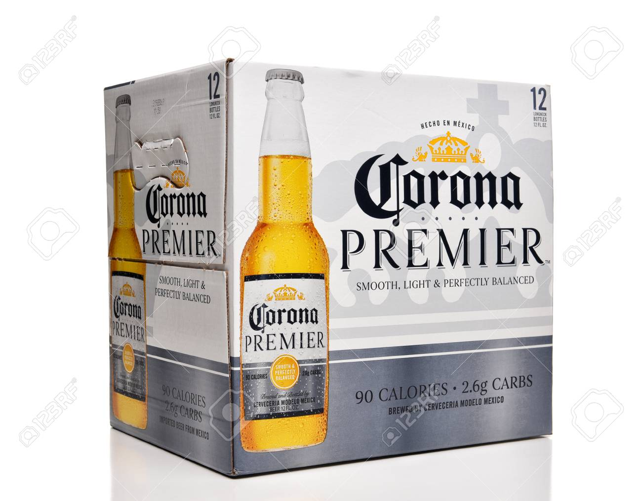 Irvine Calfornia February 17 2019 Corona Premier 12 Pack Stock Photo Picture And Royalty Free Image Image 117655440