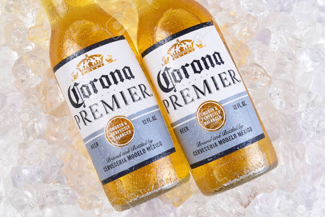 Irvine California March 21 2018 Two Bottles Of Corona Premier Stock Photo Picture And Royalty Free Image Image 151158350
