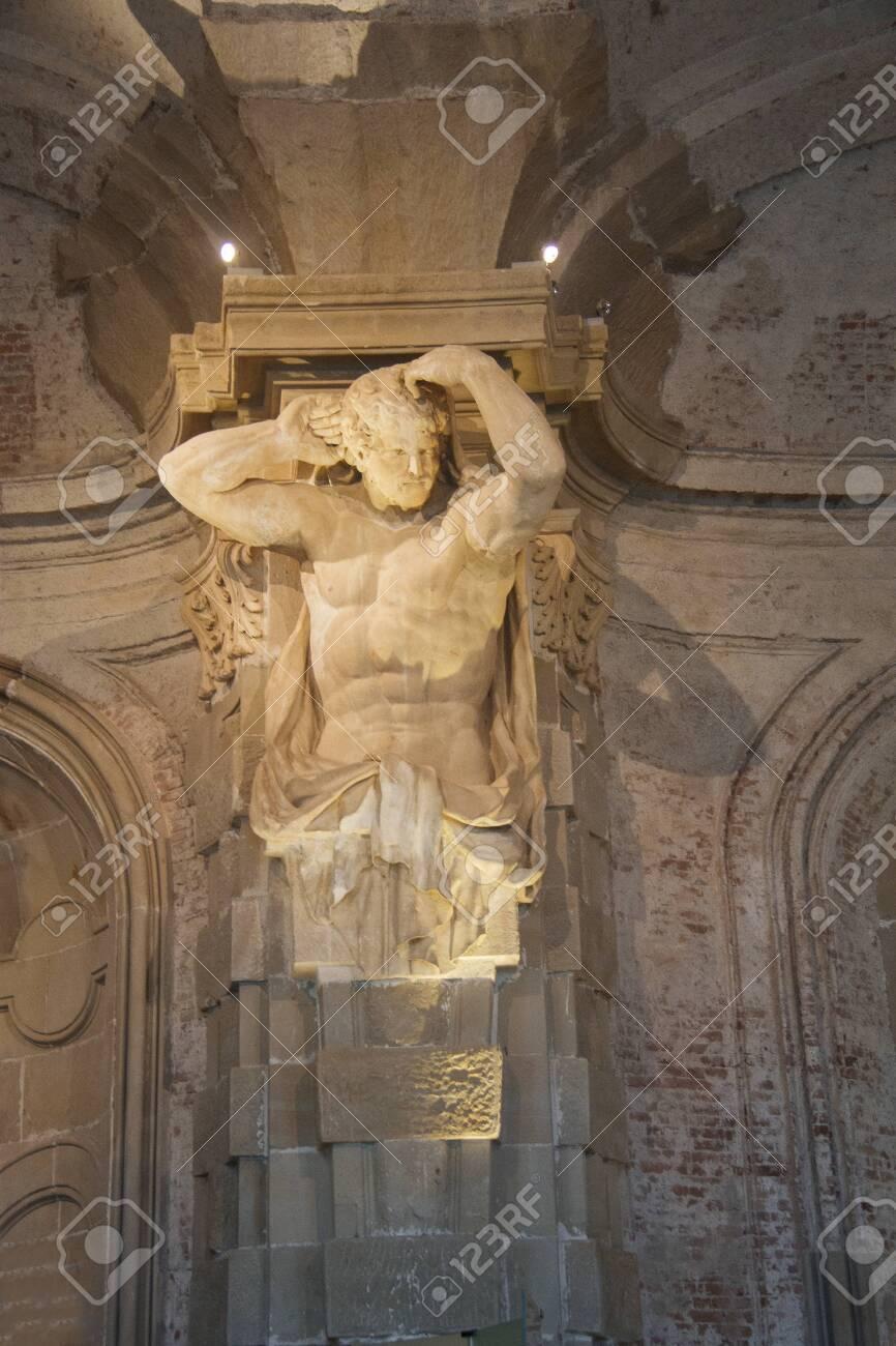 Sculpture inside the Klosterneuburg monastery of Roman Catholic church near Vienna Austria 04 november 2018 - 128303765