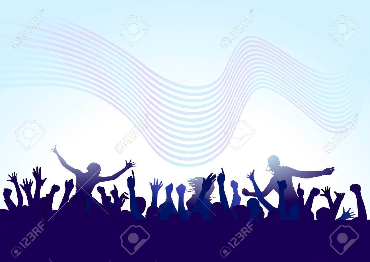extra benefit concert Stock Vector - 6513621