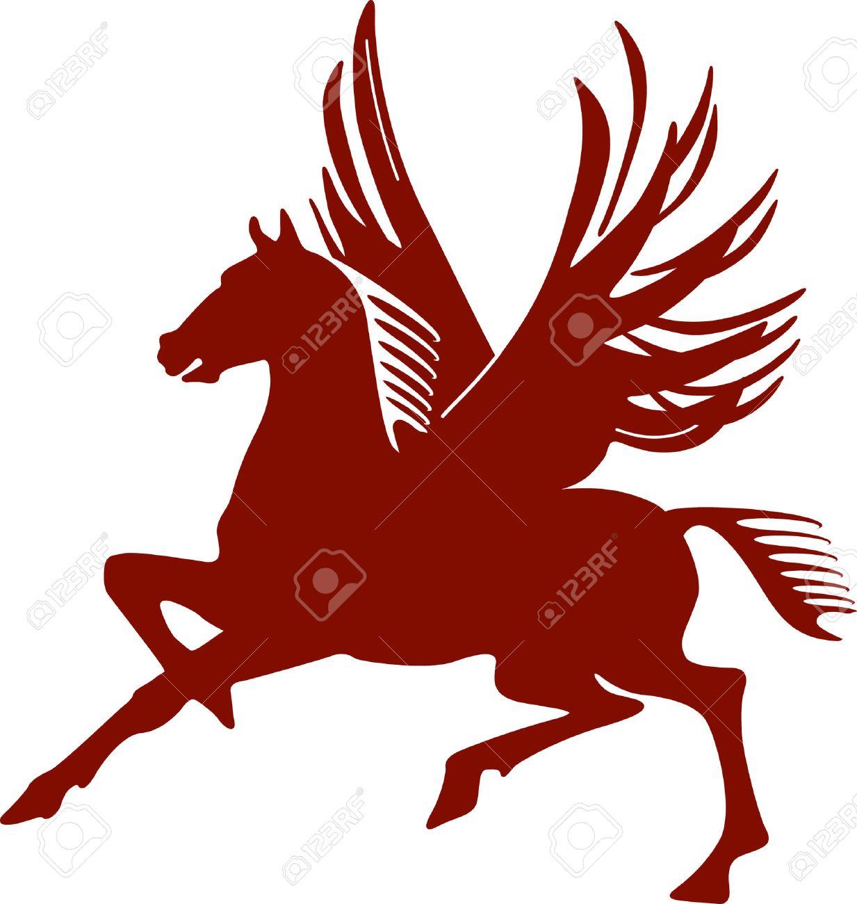 pegasus, flying horse Stock Vector - 6567474