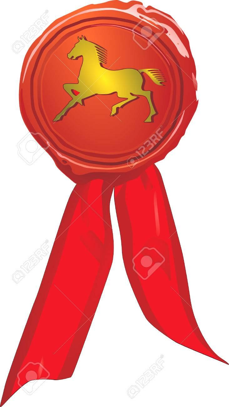to ride award Stock Vector - 6594025