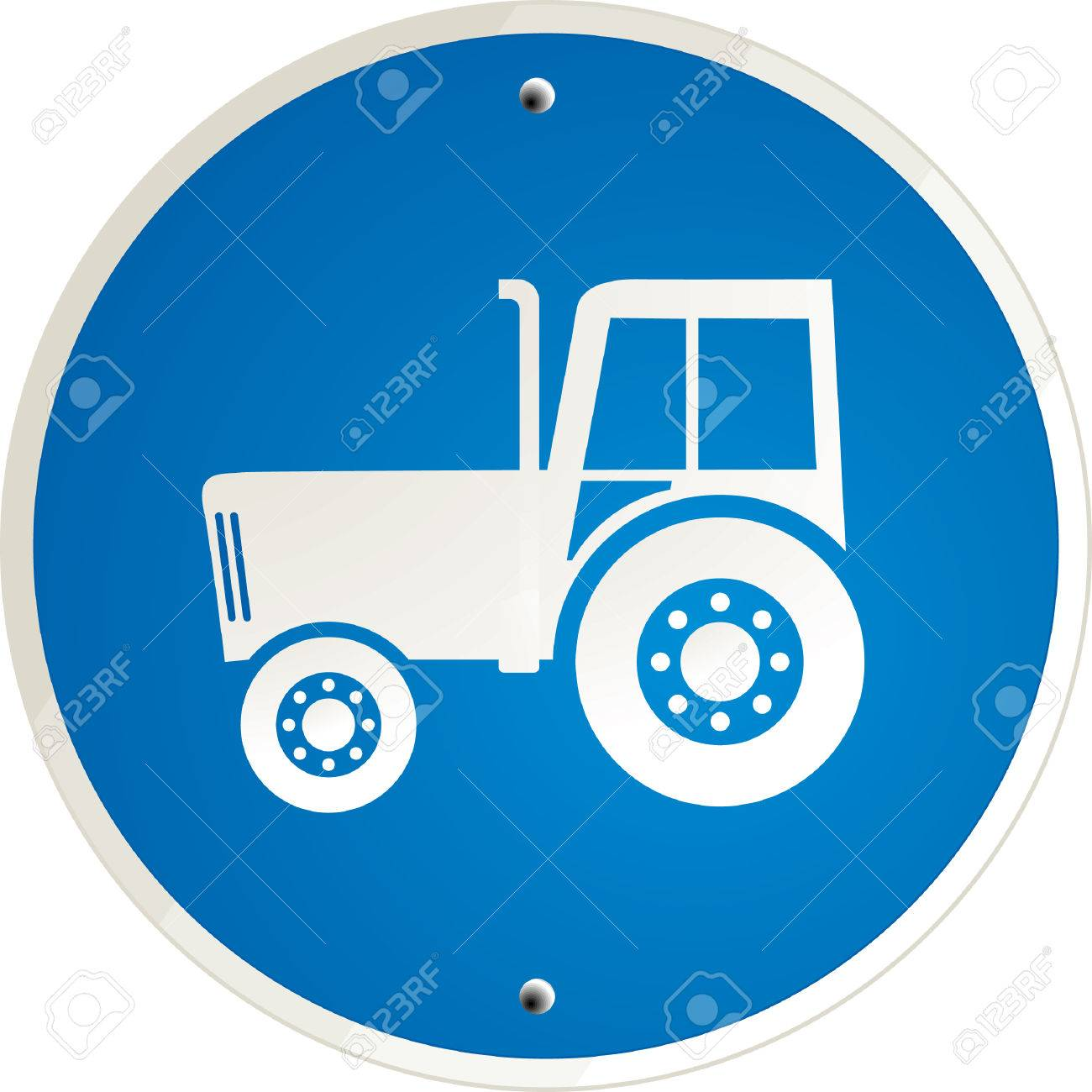 tractor clear Stock Vector - 6593965