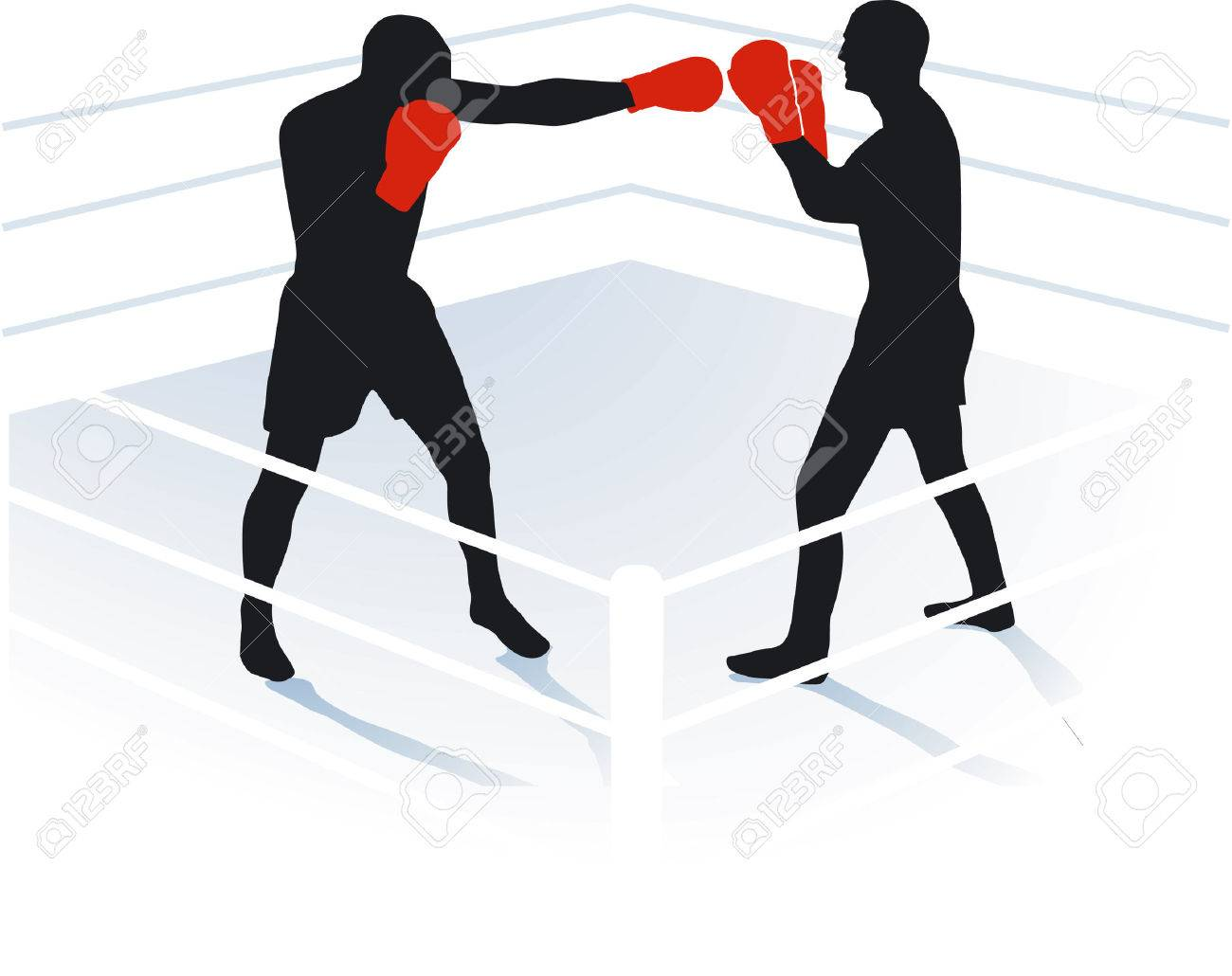 boxing, boxing ring Stock Vector - 6952203