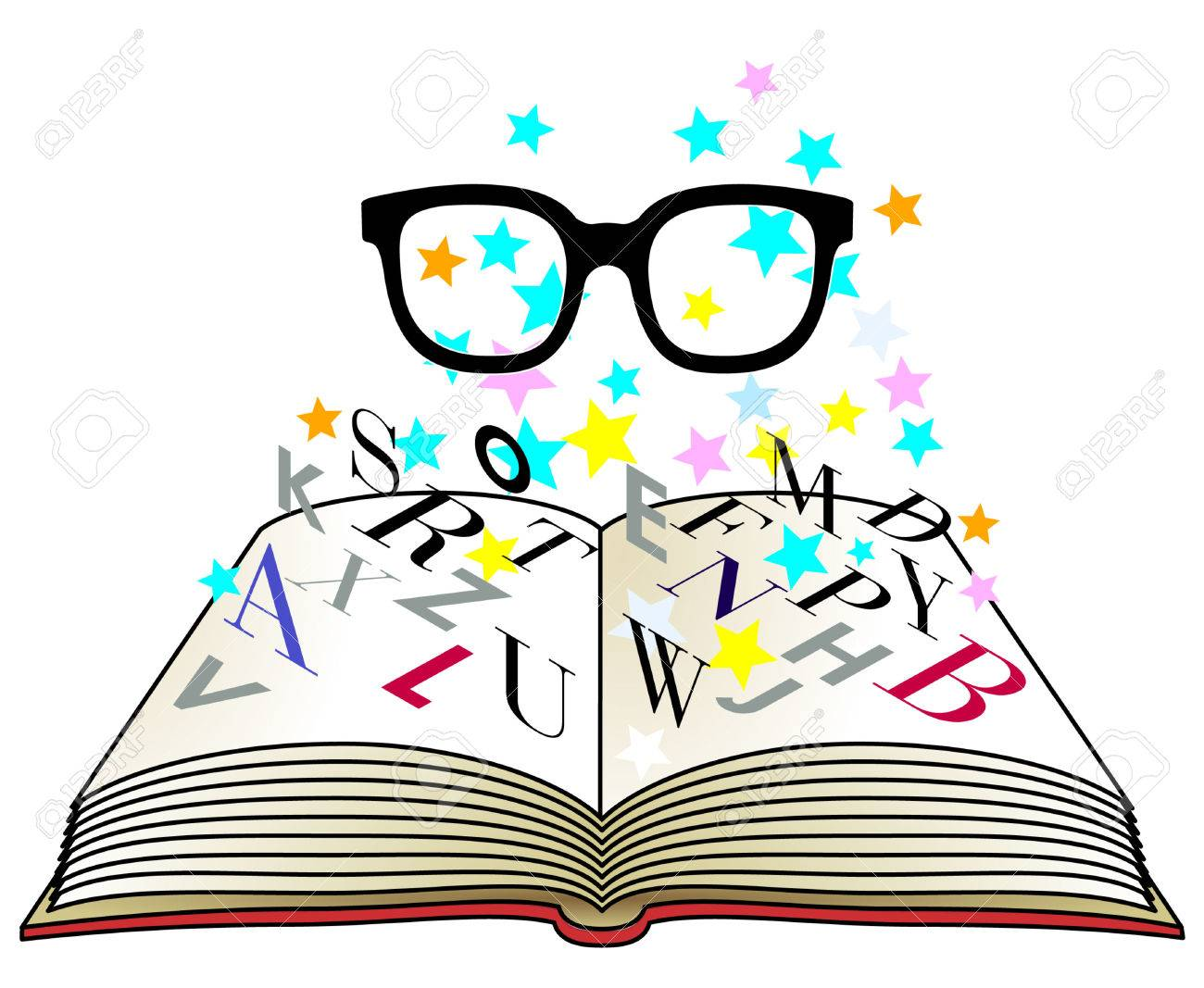 Reading Glasses Stock Vector - 7435775