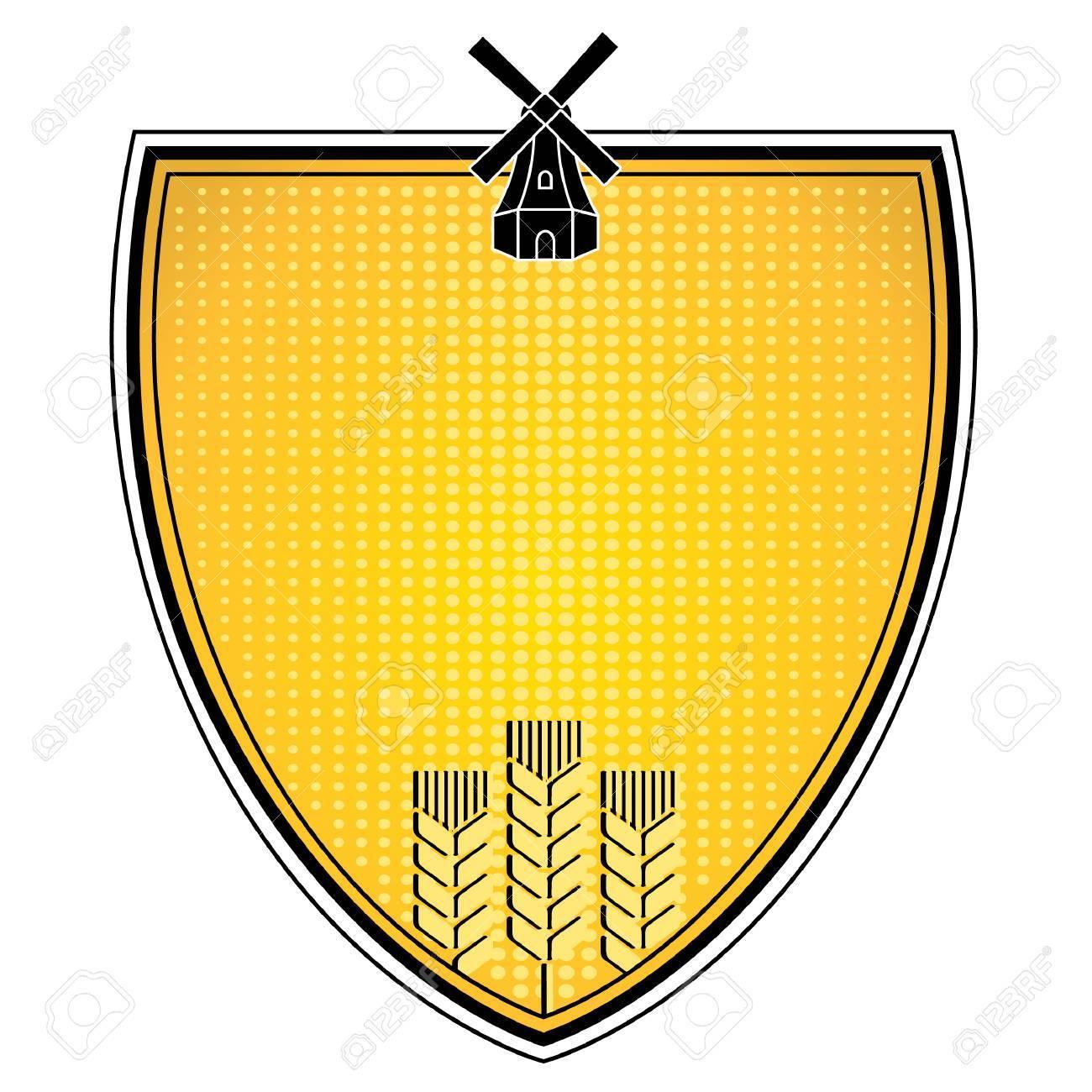 grain emblem Stock Vector - 7586785