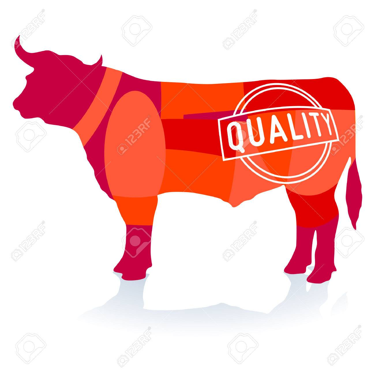 Quality Beef Stock Vector - 8038749