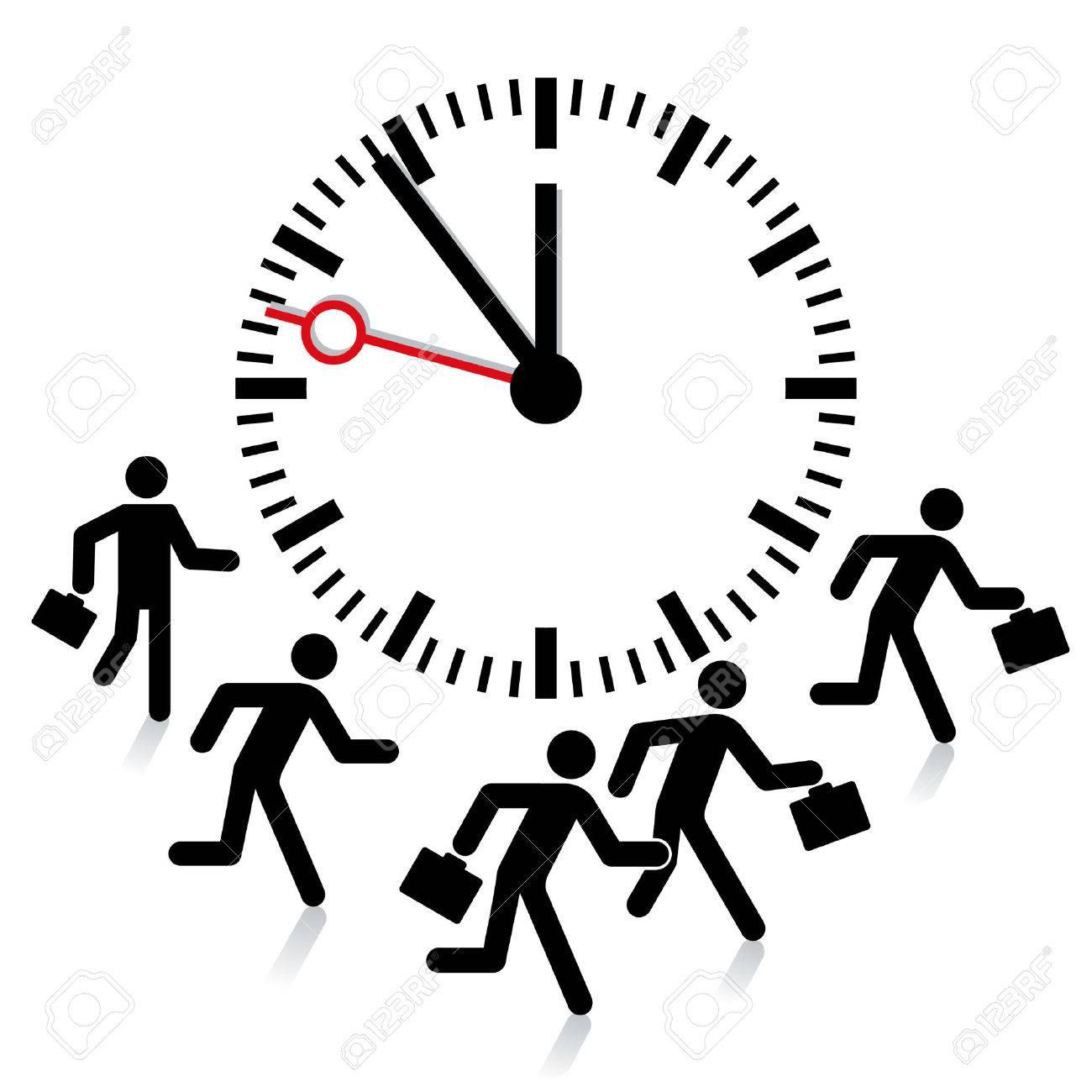 deadline, time limit Stock Vector - 8380732
