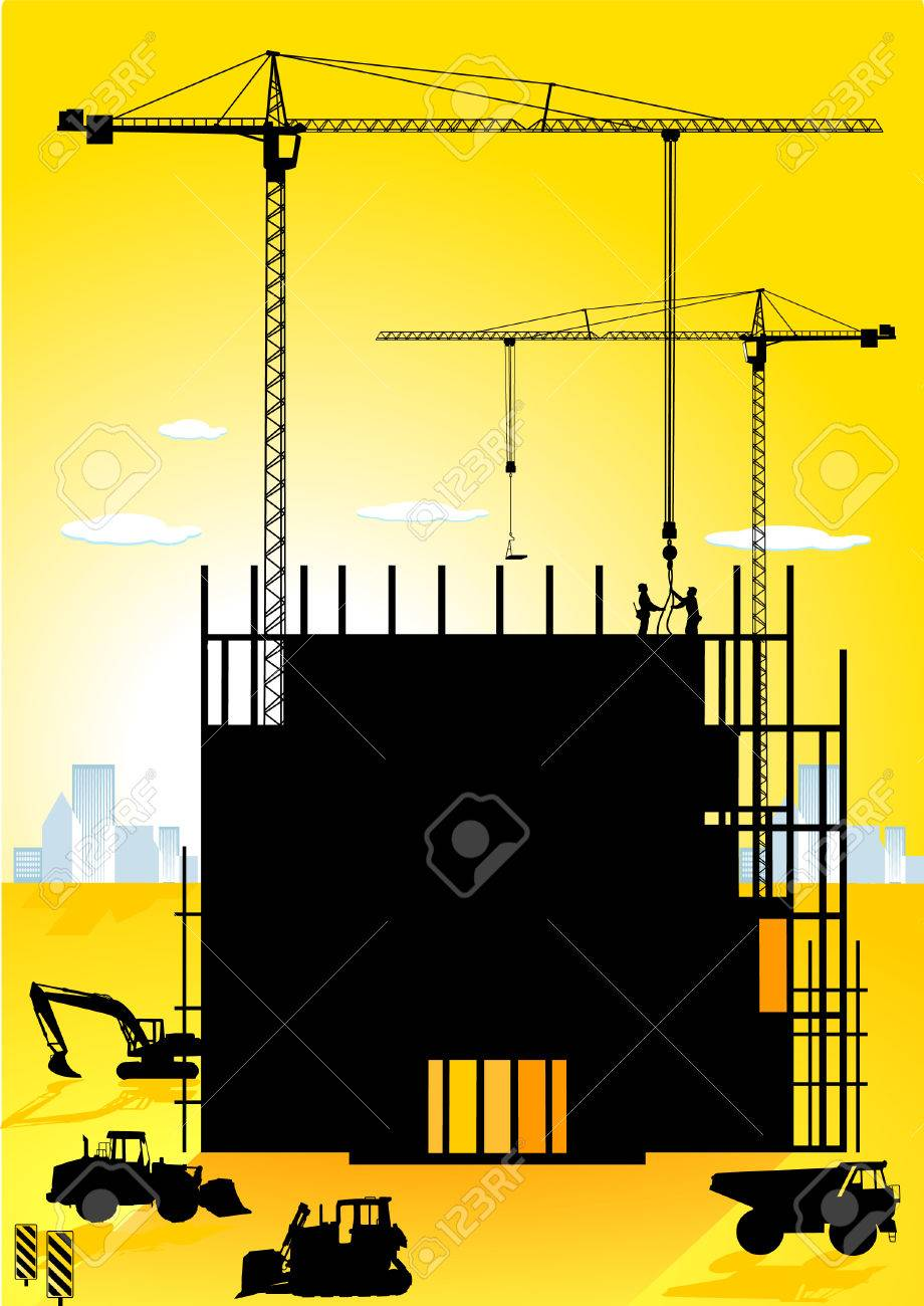high-building Stock Vector - 8874296