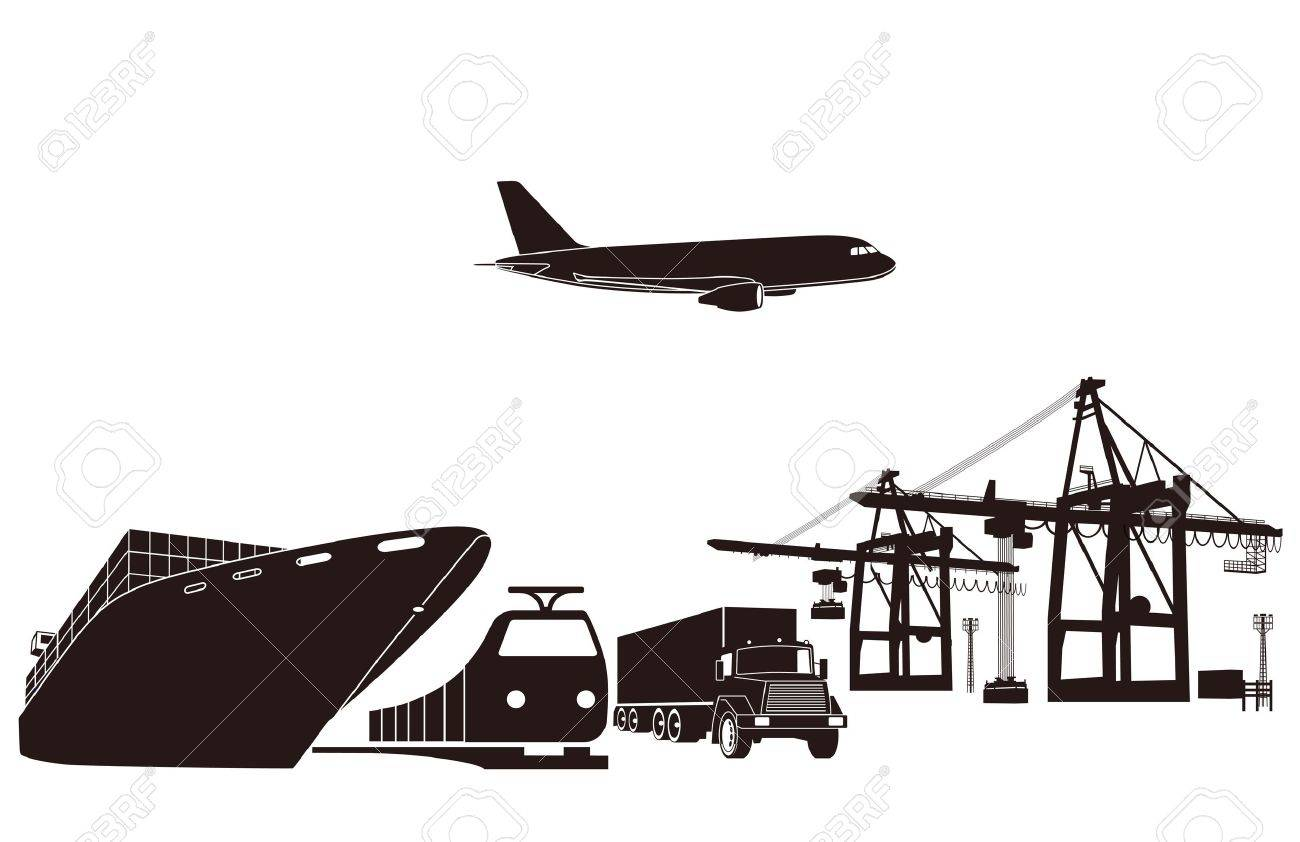 Transport and loading Stock Vector - 11485625